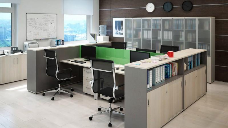 Меблі для офісу. Розташування меблів у офісі